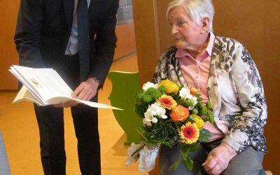 90. Geburtstag Frau Jenter